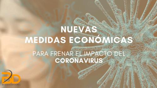Medidas para frenar el impacto económico del coronavirus